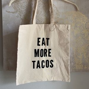 Handbags - Eat More Tacos Canvas Bag